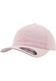 Flexfit Garment Washed Cotton Dad Hat Pink