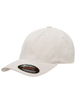 Flexfit Garment Washed Cotton Dad Hat Beige