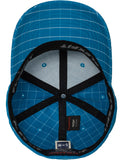 FLEXFIT SQUARE CHECK CAPS Turquoise