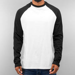 Just Rhyse 2 Tone Longsleeve  White