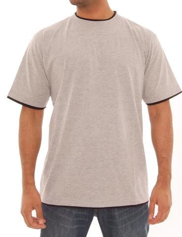 Contrast Basic Tee RBB-1010 Grey