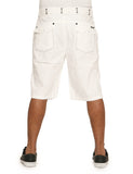 EL Seam Shorts V55P15S White