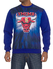 Image of 13-01D YMCMB Crewneck Blue