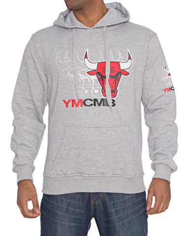 Bulls YMCMB Quadro Faded Hoody Grey