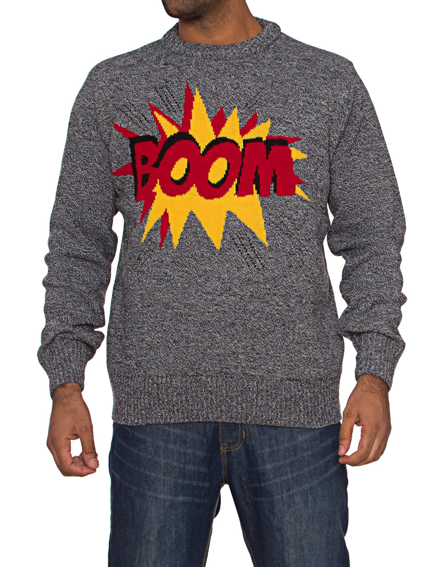Jumper with Boom Grey