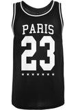 Paris Mesh Tanktop  Black