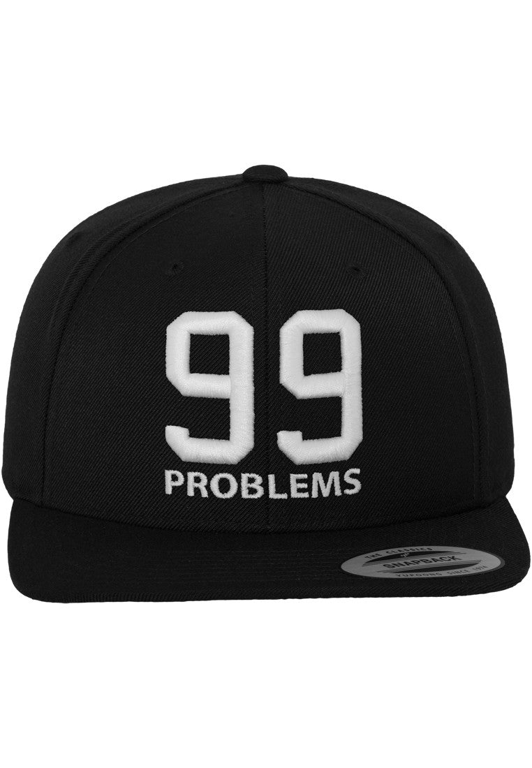 99 Problems Cap MT205 Black