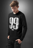 99 Problems Bandana Crewneck  Black