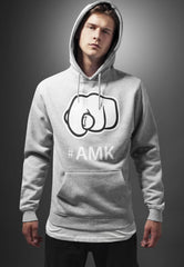 #AMK Hoody  Grey