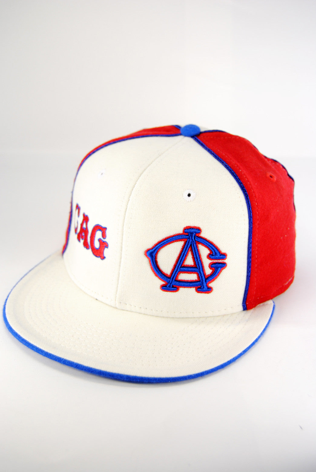 Negro League Chicago American Giants Cap  Cap White