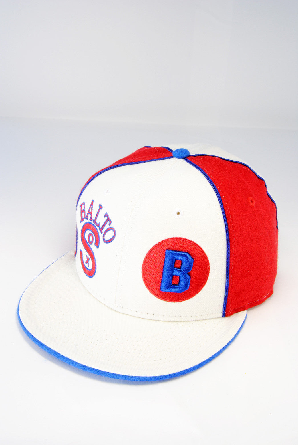 Negro League Baltimore Black Sox Cap White