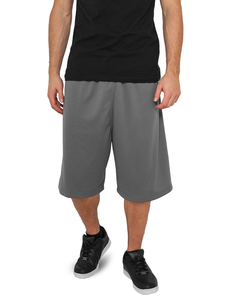 Bball Mesh Shorts TB046 Grey