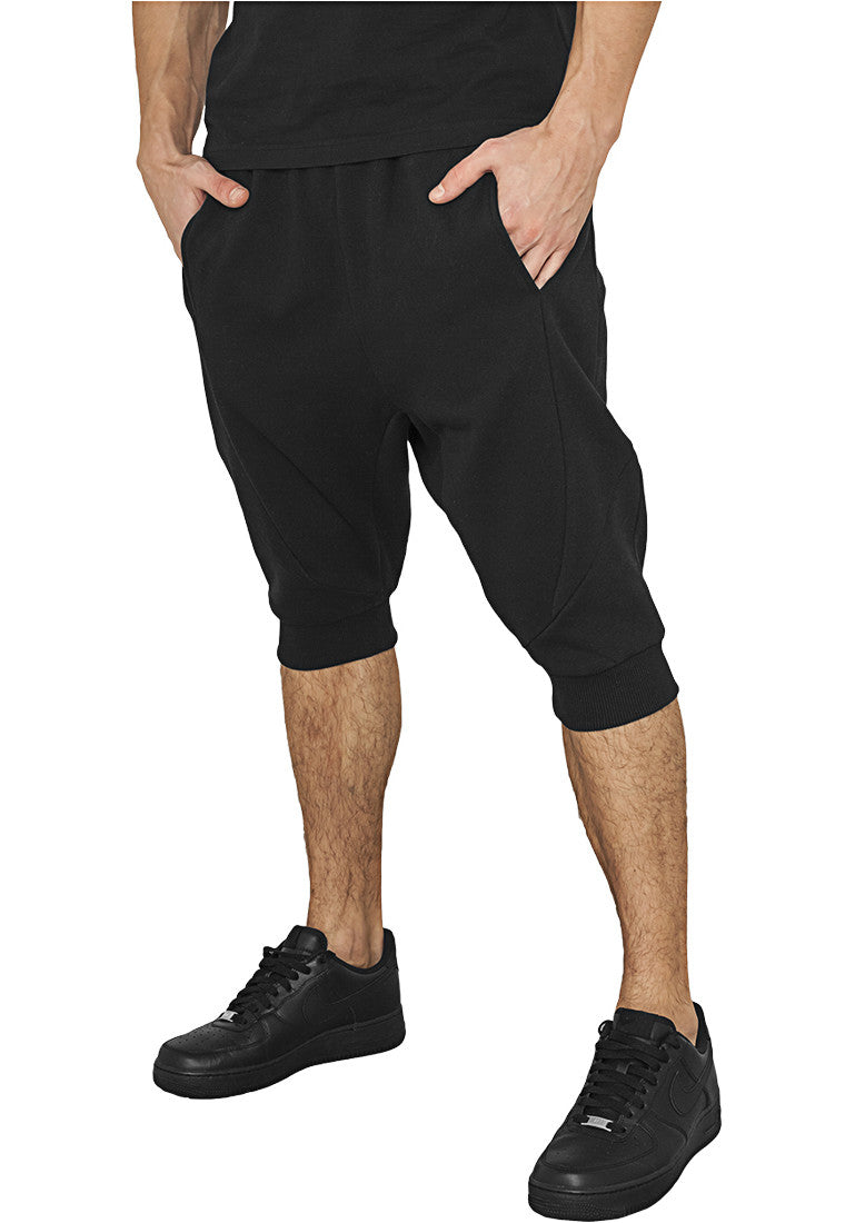 Deep Crotch Undefined Sweatshorts TB1014 Black