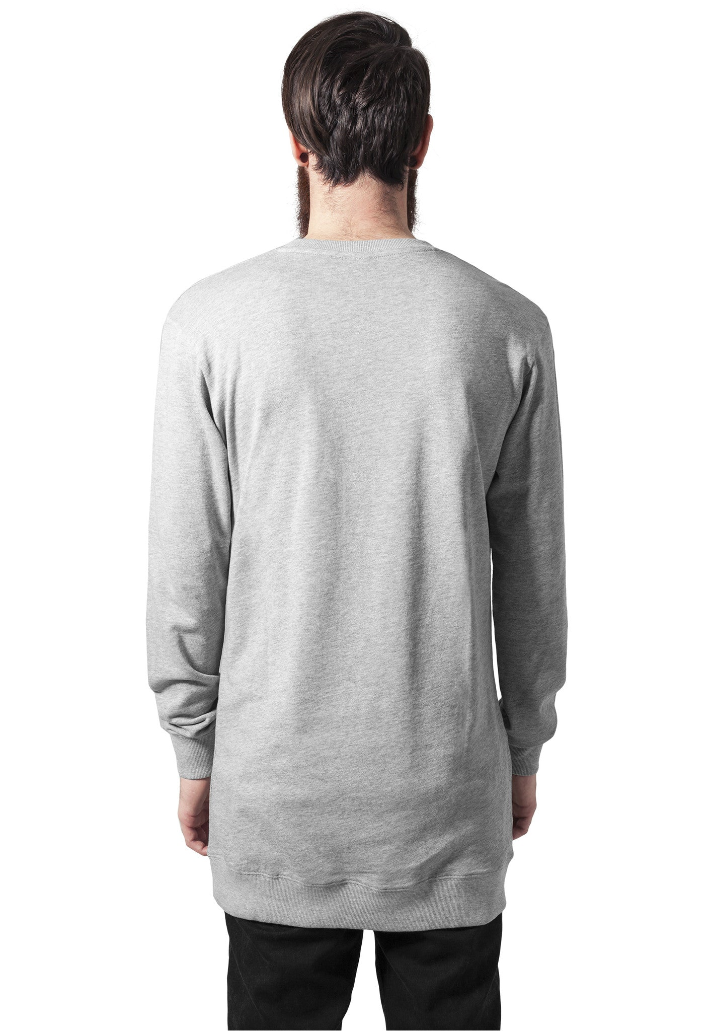 Long Light Fleece Crewneck TB1104 Grey