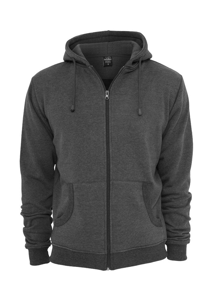 Relaxed Zip Hoody TB114 Grey