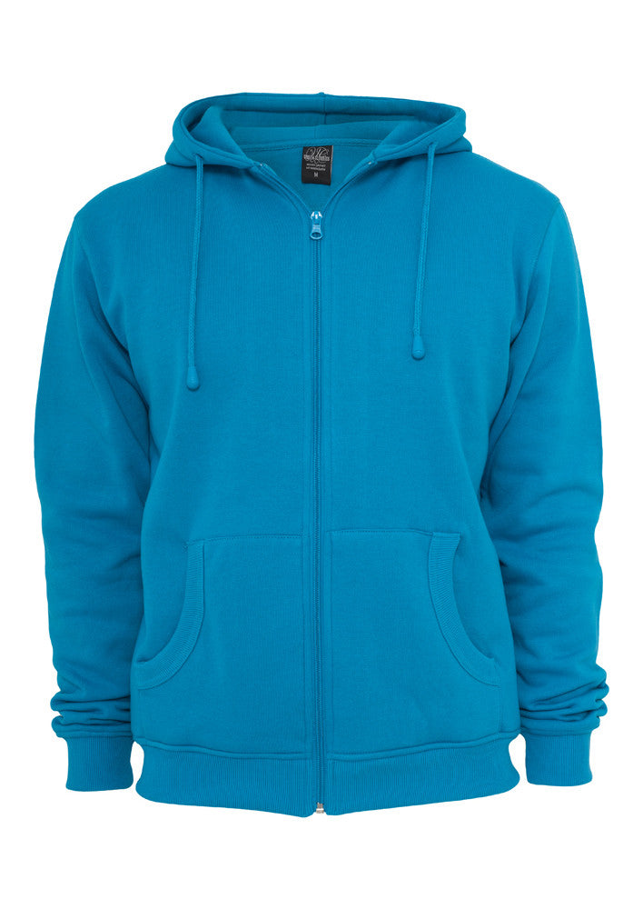 Relaxed Zip Hoody TB114 Turquoise
