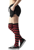 Ladies Striped Socks TB1167 Black