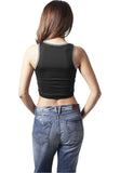 Ladies Tech Cropped Top TB1169 Black
