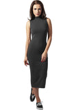 Ladies Stretch Jersey Turtleneck Dress TB1195 Grey