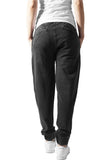 Ladies Acid Wash Jogging Pants TB1205 Grey