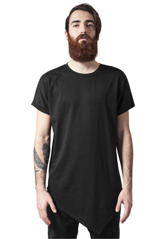 Asymetric Long Tee TB1227 Black