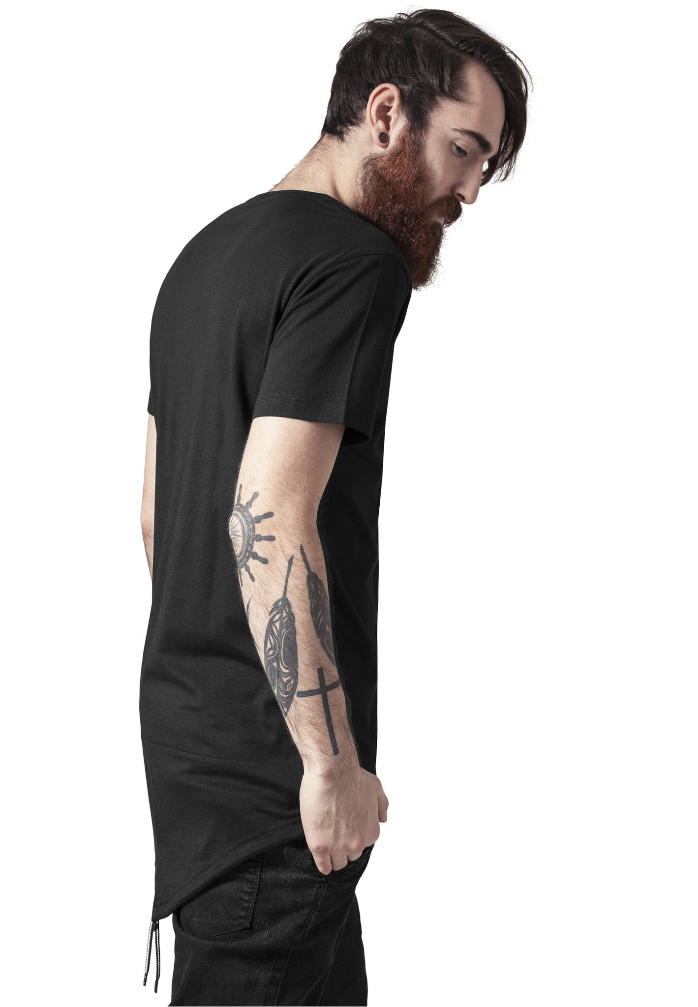 Long Tail Tee TB1228 Black