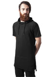 Shortsleeve Long Raglan Hoody TB1245 Black