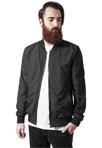 Light Bomber Jacket TB1258 Black