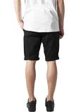 Stretch Turnup Chino Shorts TB1264 Black