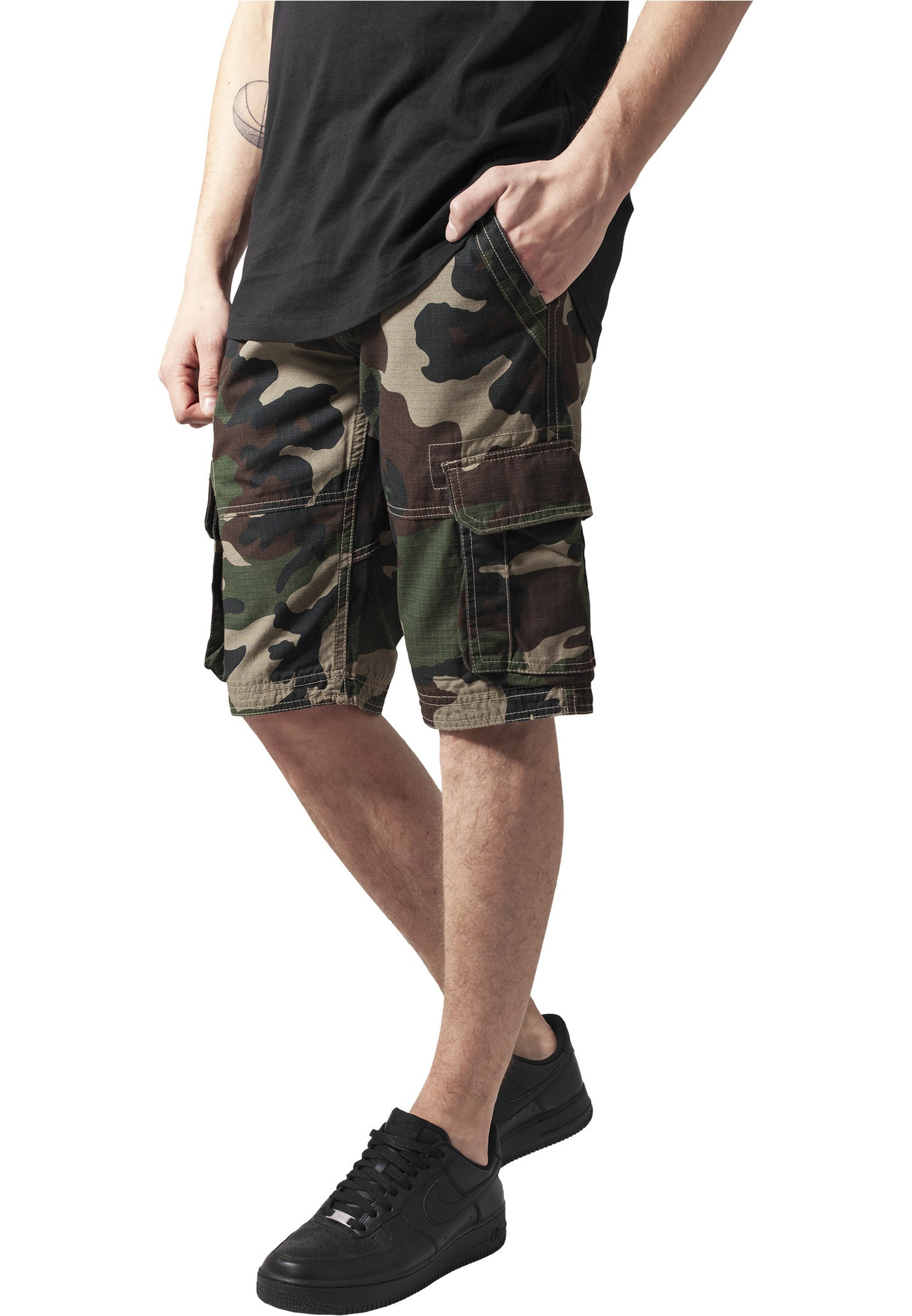 Fitted Cargo Shorts TB1265 Camo
