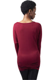 Cutted Viscose L/S TB1302 Red
