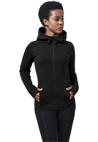 Athletic Interlock Zip Hoody TB1325 Black