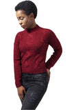 Short Turtleneck Sweater TB1349 Red