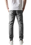 Washed Canvas Jogging Pants TB1434 Grey