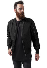 2-Tone Bomber Jacket TB1446 Black