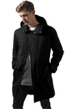Cotton Peached Canvas Parka TB1461 Black