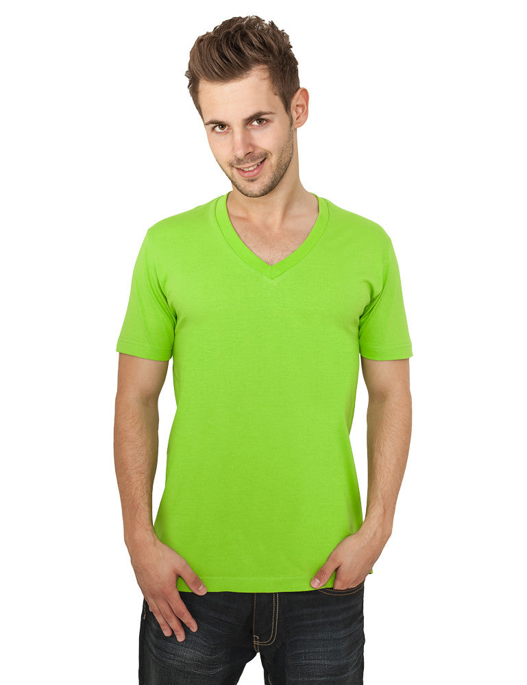 Basic V-Neck Tee TB169  Lime green