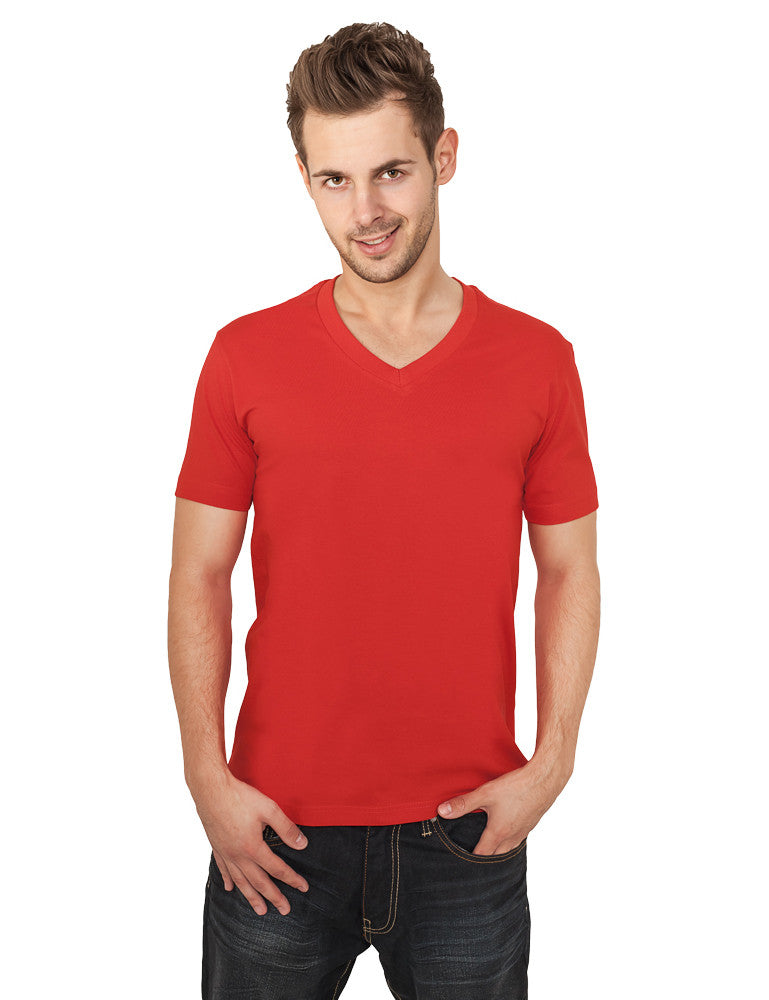 Basic V-Neck Tee TB169  Red