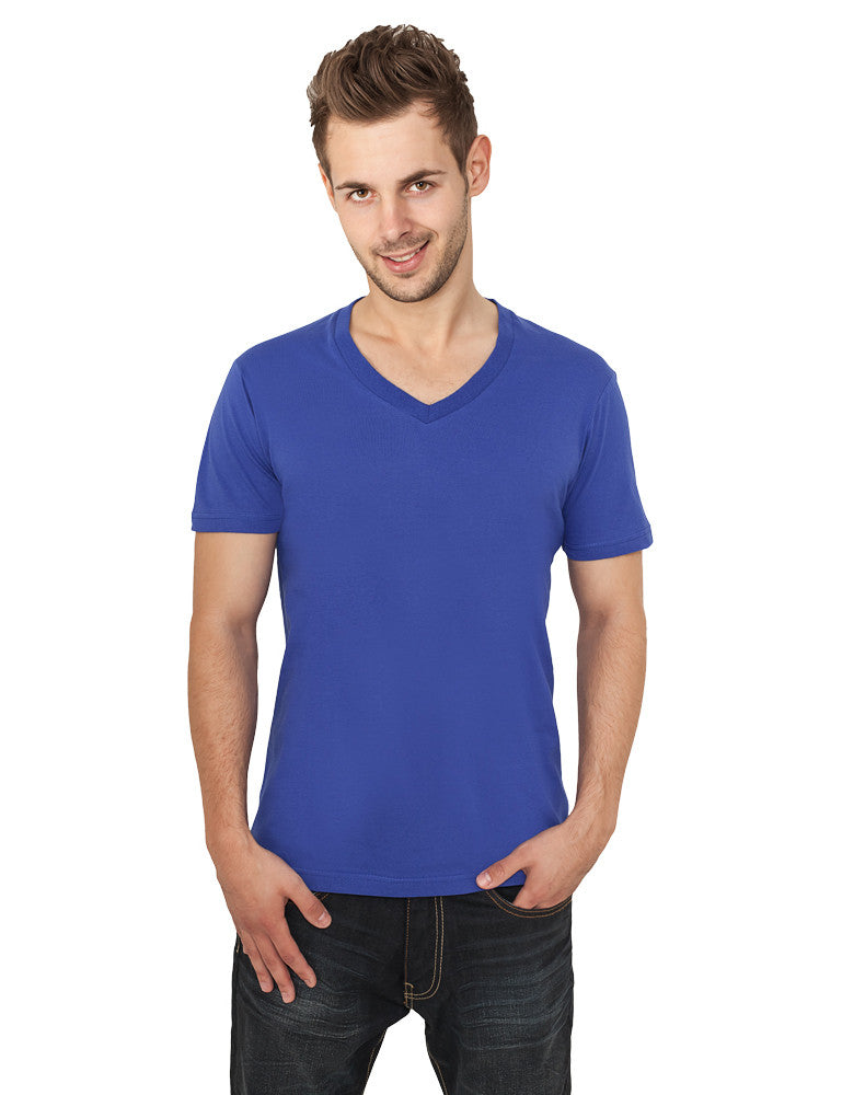 Basic V-Neck Tee TB169  Blue