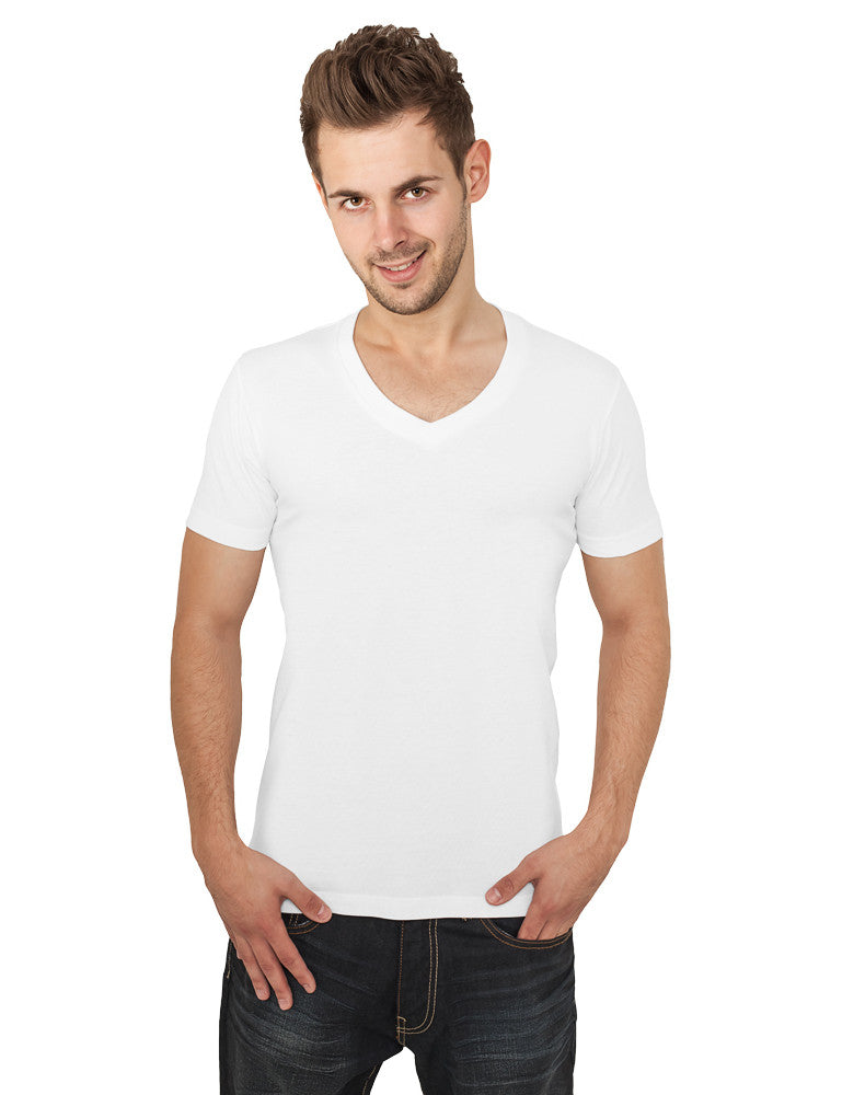 Basic V-Neck Tee TB169  White