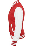 Ladies 2-Tone College Sweatjacket TB218 Red