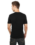 Slim 1by1 V-Neck Tee TB367 Black