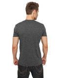 Melange V-Neck TB368  Black
