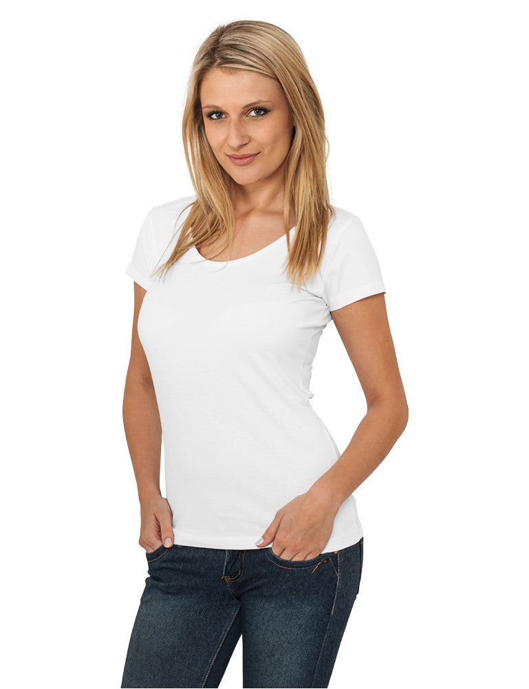 Ladies Basic Tee TB383 White