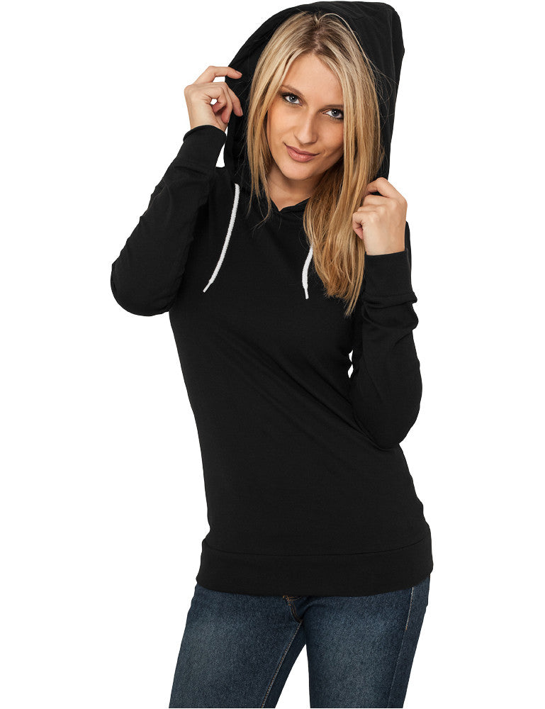 Ladies Jersey Hoody TB387 Black