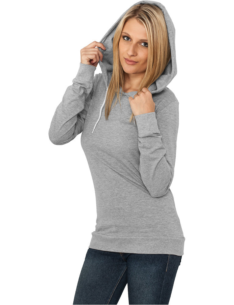 Ladies Jersey Hoody TB387 Grey
