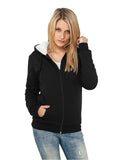 Ladies Winter Zip Hoody TB396 Black