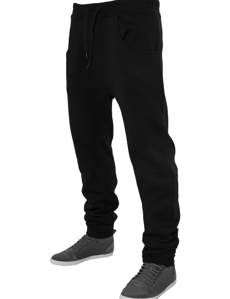 Deep Crotch Sweatpant TB504 Black