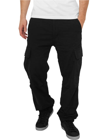 Camouflage Cargo Pants TB630 Black
