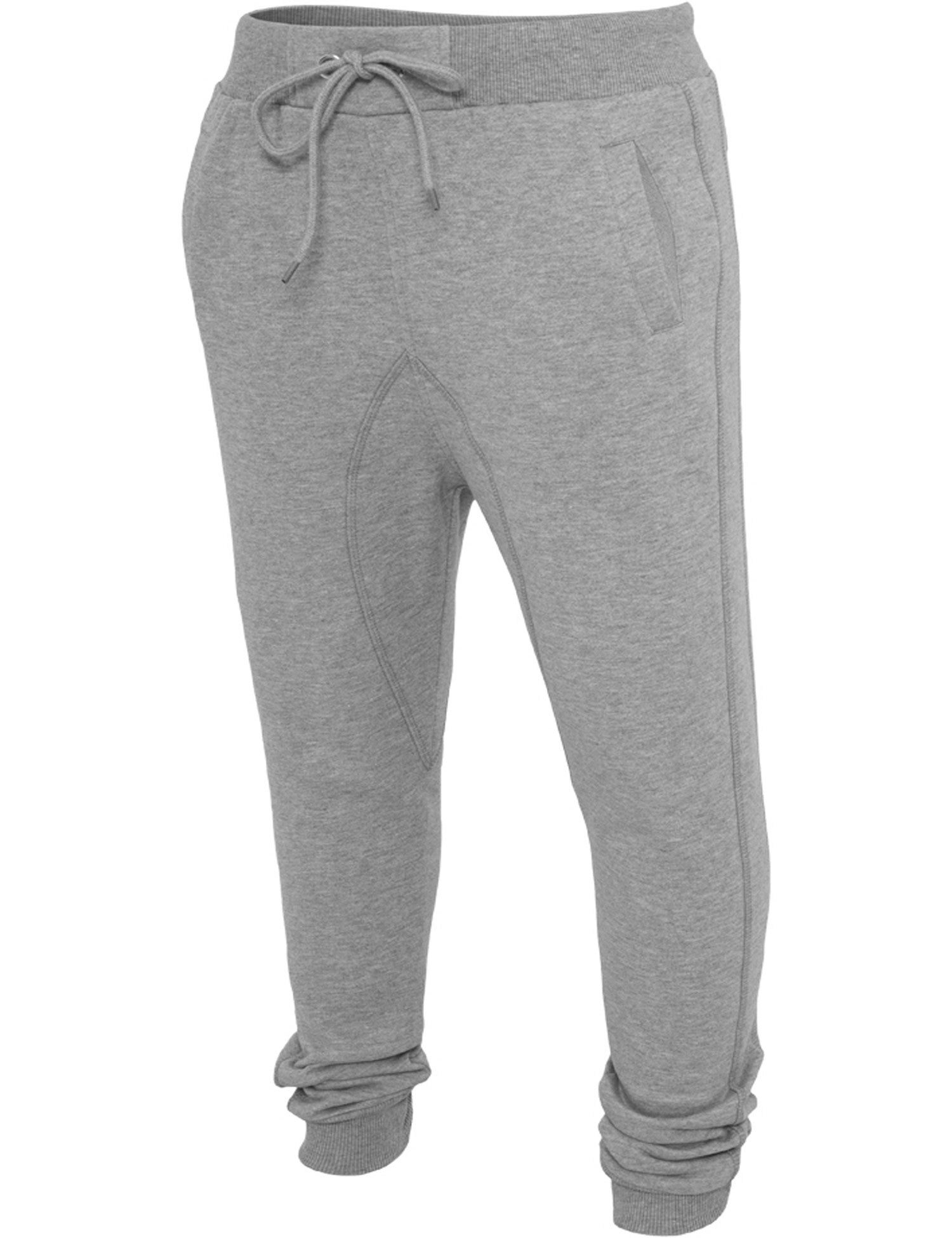 Ladies Deep Crotch Sweatpant TB748 Grey